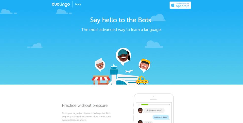 Duolingo chatbot