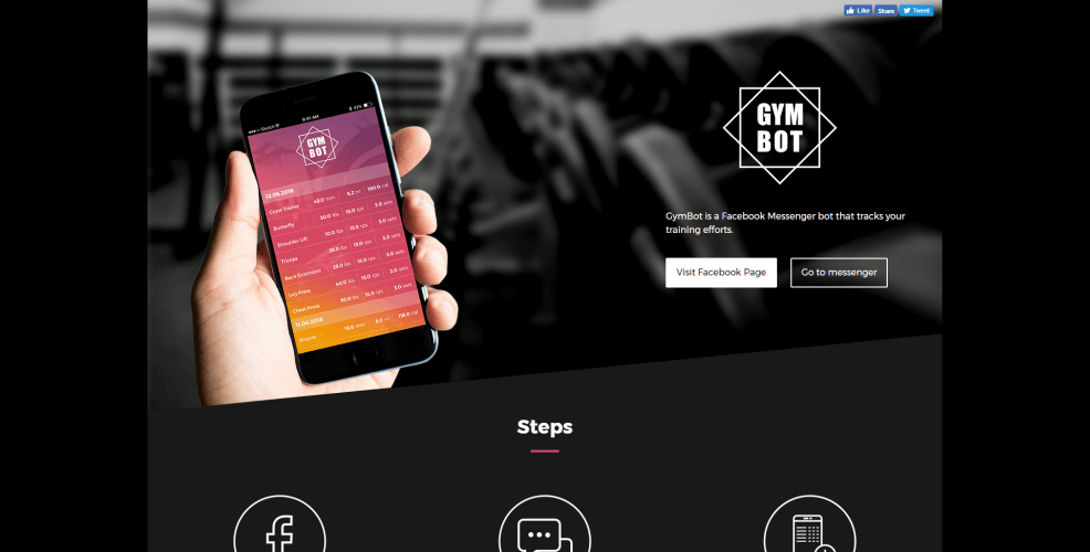 Gymbot app