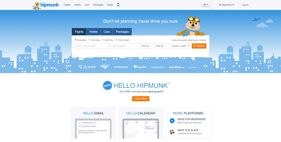 Hipmunk bot app