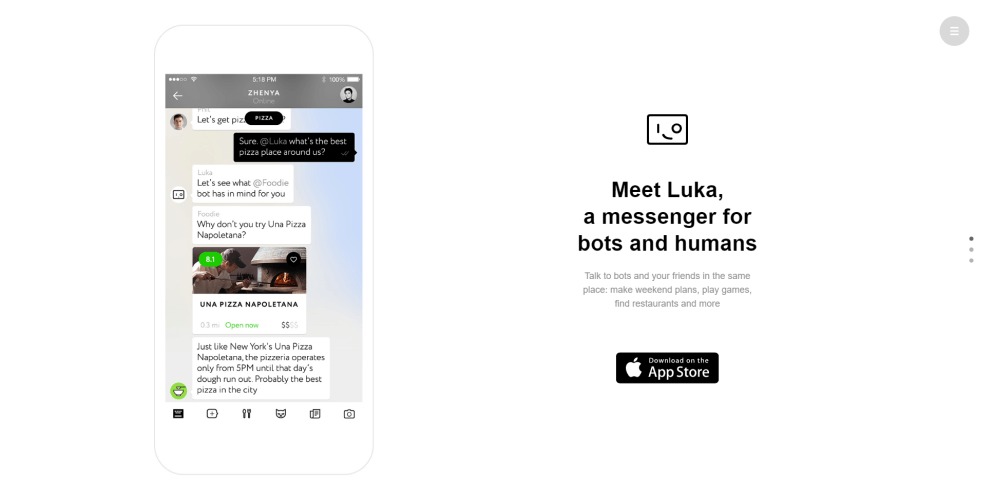 Luka AI app